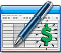 Financial spreadsheet logo